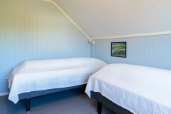 The blue bedroom. Two 90 cm beds