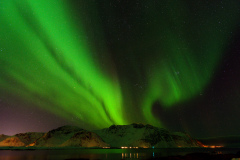 Northern lights, taken in January, just 50 meters from the house